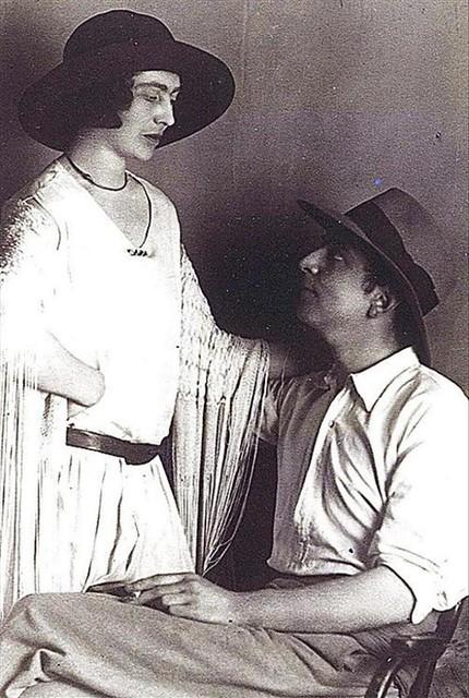 Roy Campbell y su mujer Mary Garman cuando residían en Toledo en 1935-36