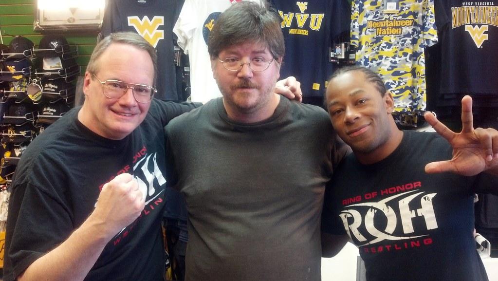 Jim Cornette, Jay Lethal, & I.