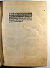 Title-page of Ockam, Guilielmus: Quaestiones et decisiones in IV libros Sententiarum