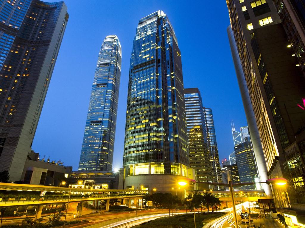 香港-小小的夜景