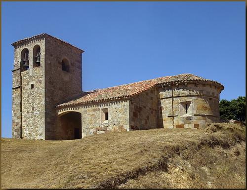 Prádanos del Tozo (Burgos). Iglesia de San Martín