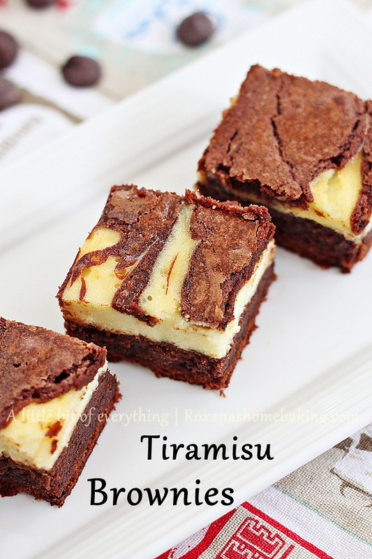Tiramisu Brownies