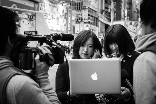 Filming on the Streets, Tokyo 2012