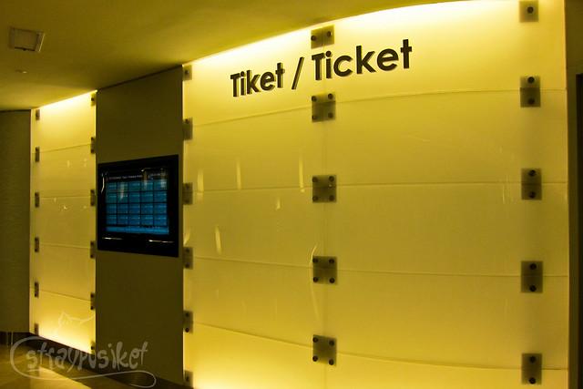 Tiket / Ticket
