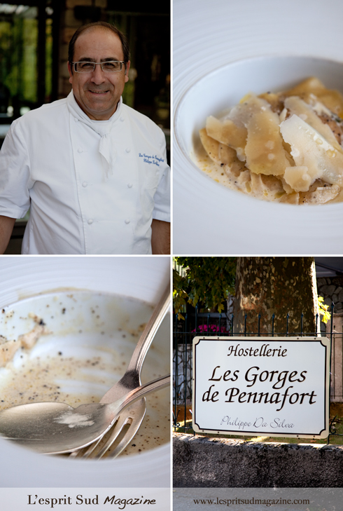 Philippe Da Silva, Chef owner of Les Georges de Pennafort