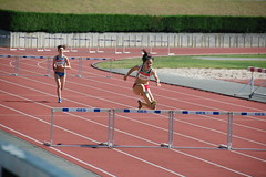 middle-distance running(0.0), sprint(0.0), recreation(0.0), 800 metres(0.0), physical exercise(0.0), athletics(1.0), track and field athletics(1.0), sport venue(1.0), 110 metres hurdles(1.0), obstacle race(1.0), 100 metres hurdles(1.0), sports(1.0), running(1.0), outdoor recreation(1.0), hurdle(1.0), hurdling(1.0),