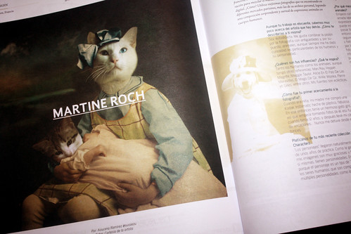Article in an art magazine - Mexico