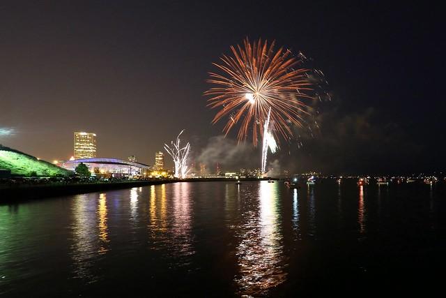 Summerfest's opening fireworks