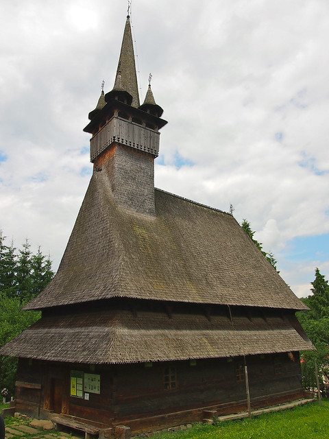 Budesti Wooden Church, Romania