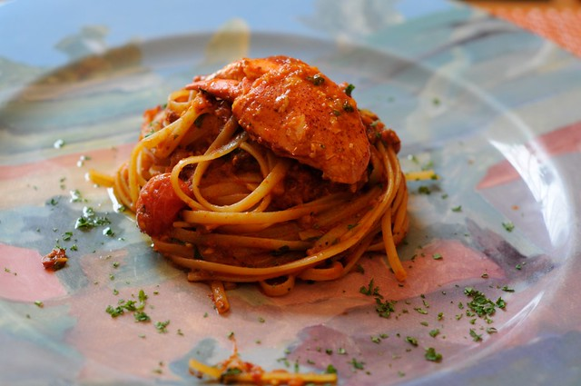 Sample: Linguine all'Aragosta @ Palio, RWS