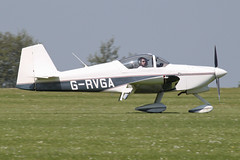 G-RVGA - 1998 build Vans RV-6A, arriving at AeroExpo 2012