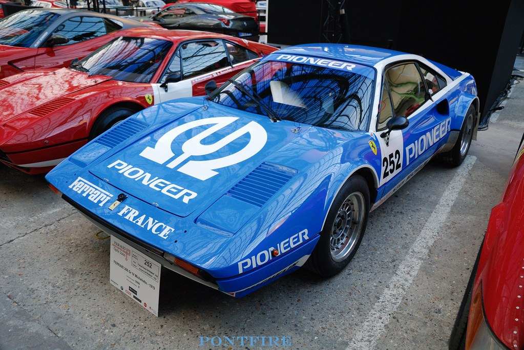 1979 Ferrari 308 groupe IV michelotto