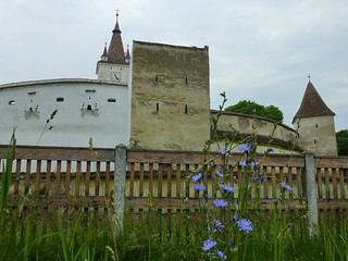 Fortified church of Harman, Romania. (UNESCO world heritage)