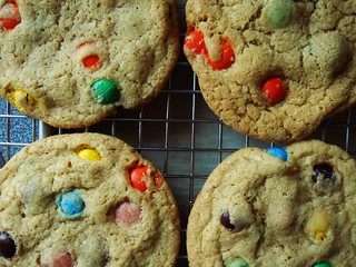 M&M Cookies for the Kiddies