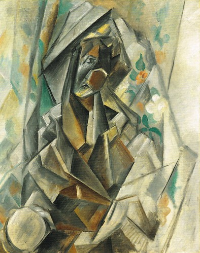 [ P ] Pablo Picasso  - Woman Resting on Her Elbow (Madonna) (1909) | by Cea.