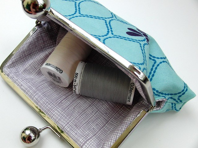 Echino Frame Pouch