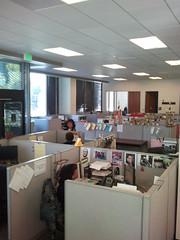 Oakland Tribune newsroom