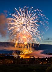Edmonton Canada Day Fireworks 2012