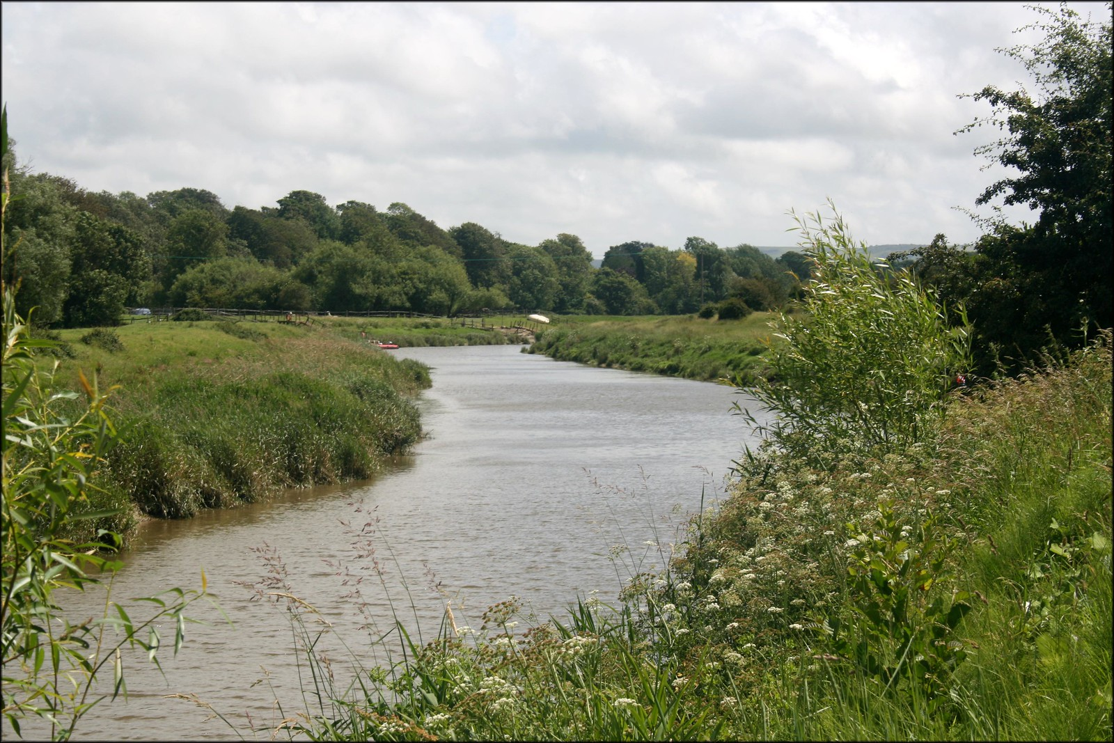 The River Ouse near Lewes