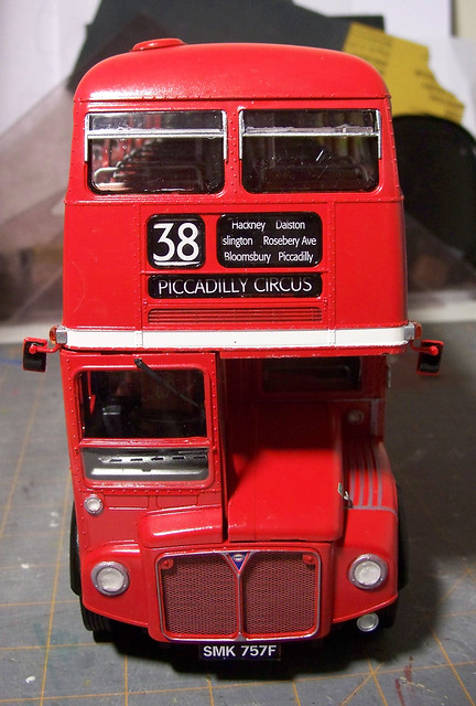 revell routemaster 1 24 bus model flickr photo sharing. Black Bedroom Furniture Sets. Home Design Ideas