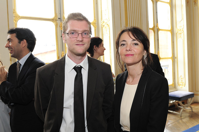 la ministre de la culture et de la communication aurelie filippetti