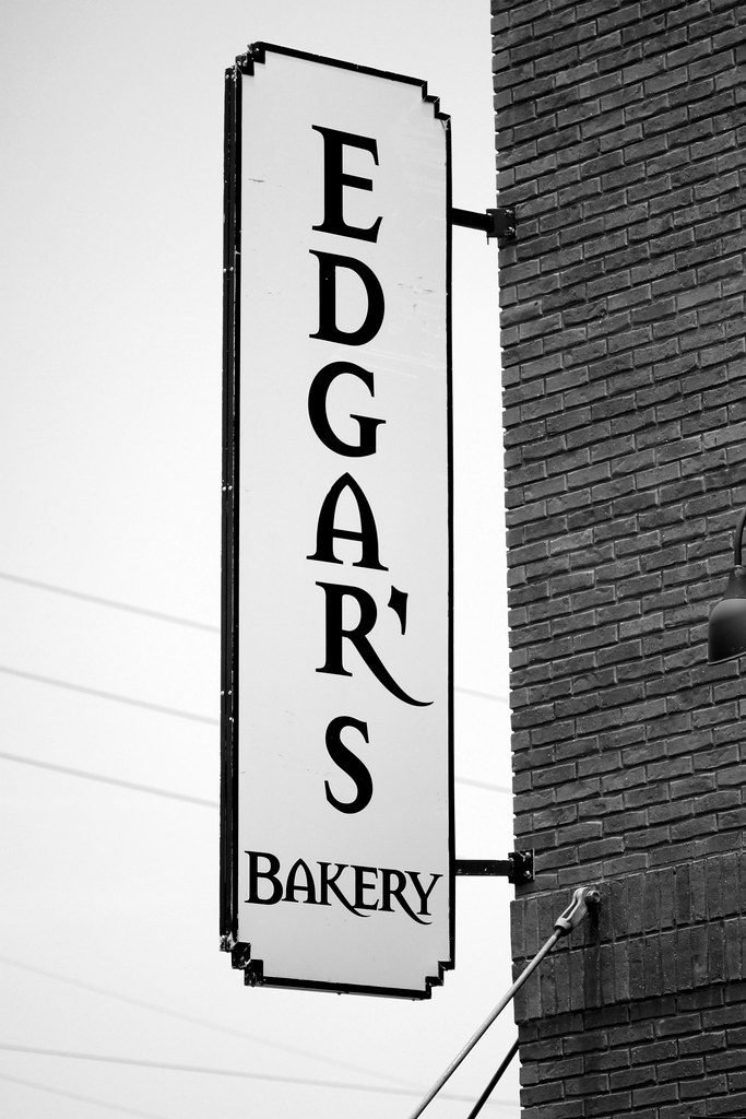 Edgar's Bakery Sign