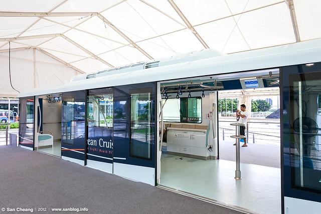 澳門輕軌列車1:1車廂模型展示活動