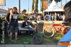 Barcelona Harley Days 2012: Bici-Sofá