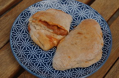 Eating The Week posted a photo:A short-cut recipe using store-bought pizza dough & just a handful of ingredients