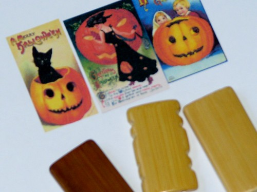 Halloween Bamboo Tile Charm 002