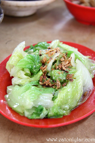 Vegetables, Restoran Yap Chuan Bak Kut Teh