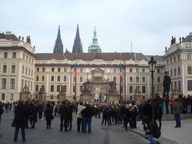 Entrance at the Prague Castle, Prague