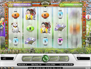 Geisha Wonders slot game online review