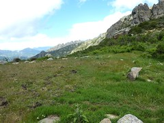 Bocca di Foce : vue vers le massif du Renosu