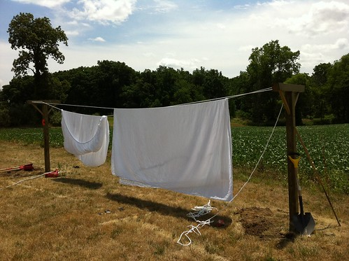 Diy Weekend Project How To Build A Kickass Clothesline Diydiva