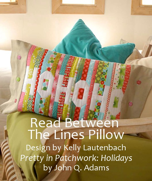 Read Between The Lines Pillow