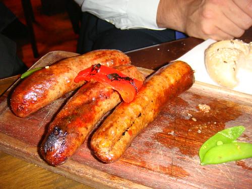 Chorizos criollos