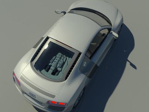 Retrovisor Audi R8