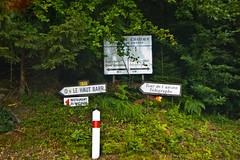 """Anciens panneaux Michelin """" Le Haut Barr """""""