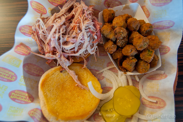 barbecue in Arkansas - Fried Okra