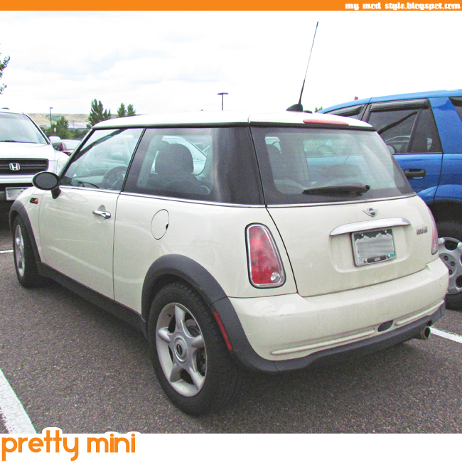 MINI pretty white 650x650