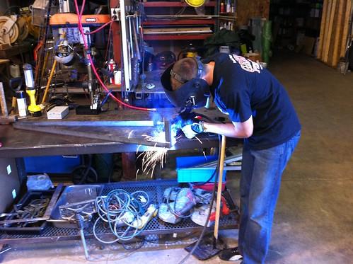 Welding Battery Rack