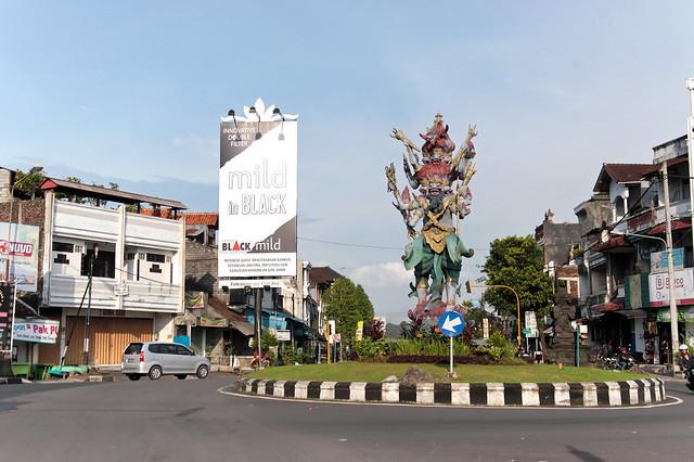 Hindu Traffic Circle?