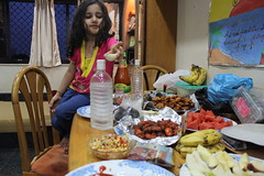 Marziya Shakir Helps Me Break My First Fast - Iftar Time 22 July 2012 by firoze shakir photographerno1