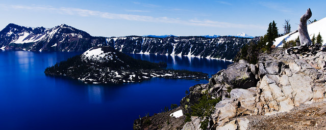 Panorama: Crater Lake