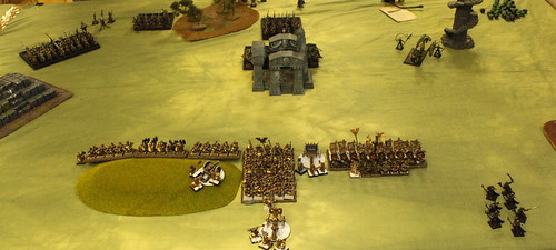 Battle 2 Vs Dark Elves  - Turn 1 DE