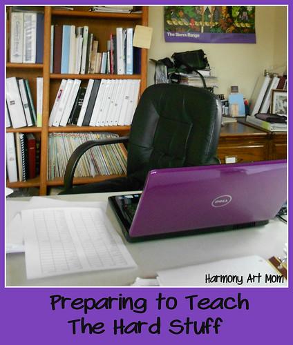 Preparing to Teach the Hard Stuff button