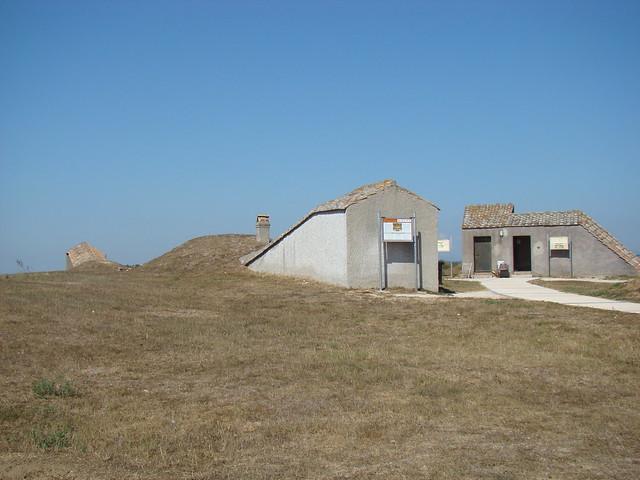 Etruskiska begravnings på Tarquinia, Montarozzi
