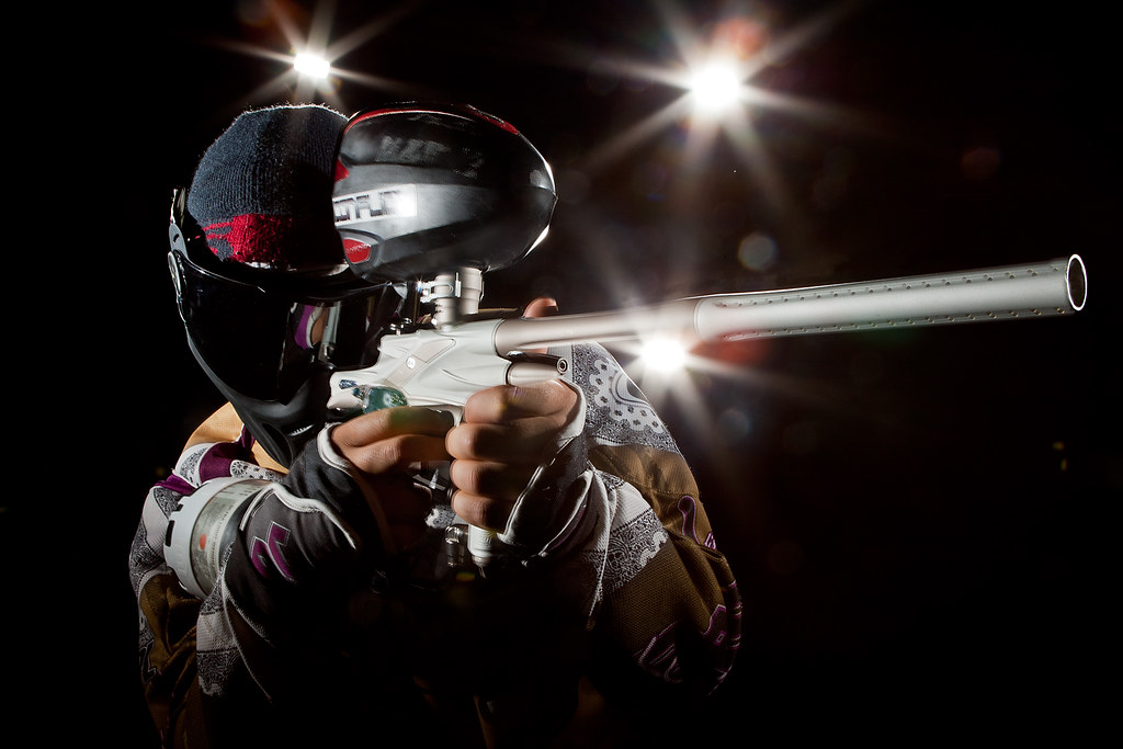Alexander Landthaler Close Up with gun