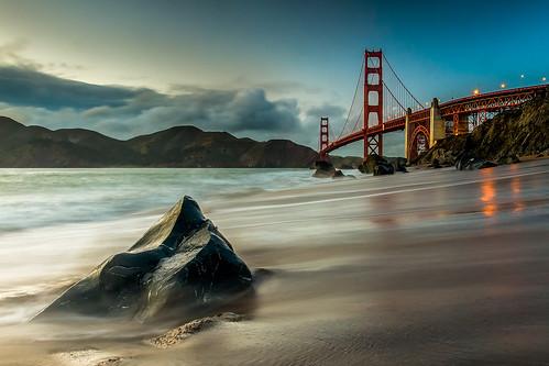 Pointed Up - Marshall Beach - Golden Gate Bridge